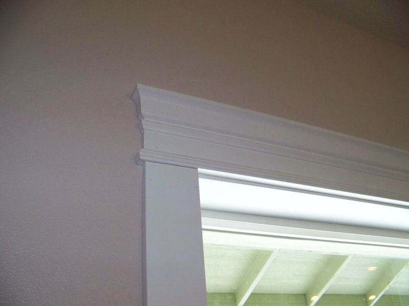 Window crown molding ideas joy studio design gallery for Window design molding