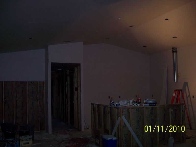 Sheetrock and paint 006
